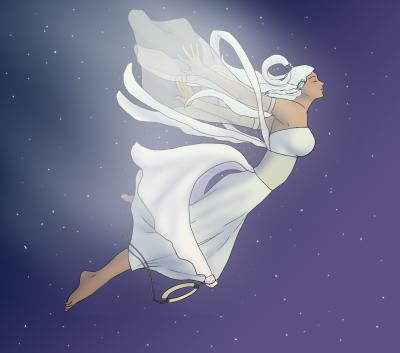 Moon Spirit's Descent