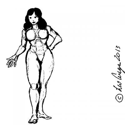 Girl, body