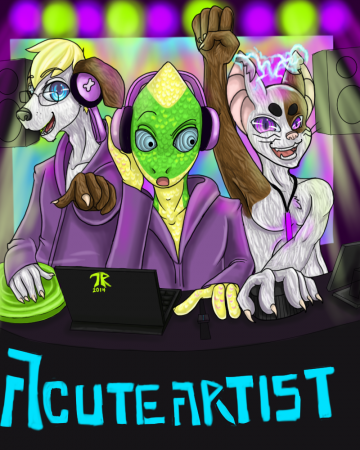 Commission: Acuteartist 1 of 2