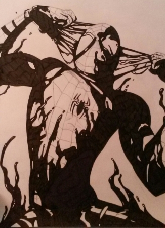 Spiderman Symbiote