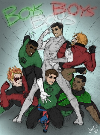Boys, Boys, Boys sketch
