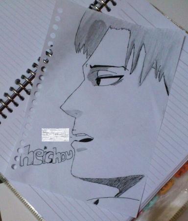 First Heichou drawing.