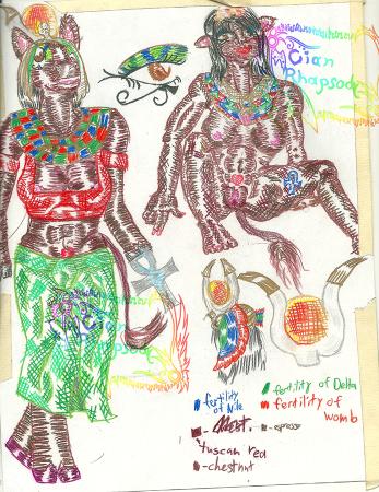 Hathor Fertility Goddess