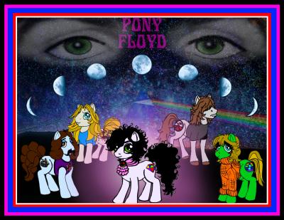Pink Floyd Ponies!