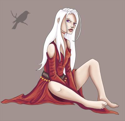 A Sitting Sparrow