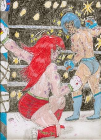 Rei Ayanami vs. Asuka L. Soryu