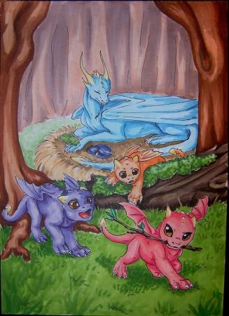 Baby Dragons - Califur 2015