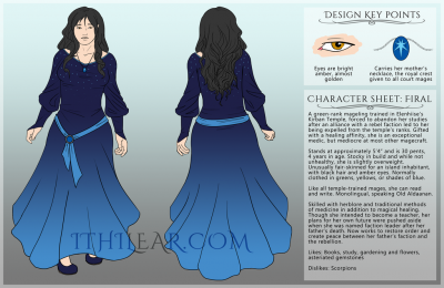 Reference sheet: Firal