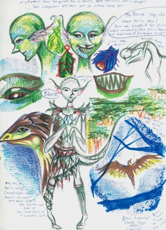 Silvern & Inan sketchdump
