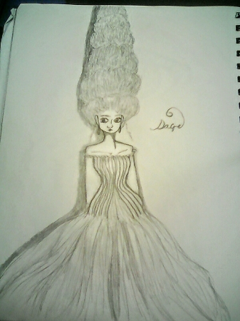 Big Haired lady