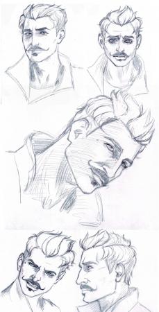 Dorian Pavus Sketches