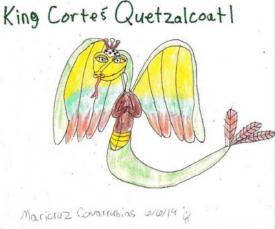King Cortes Quetzalcoatl