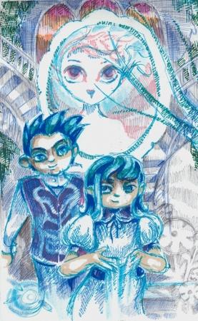 blueblood twins sketch