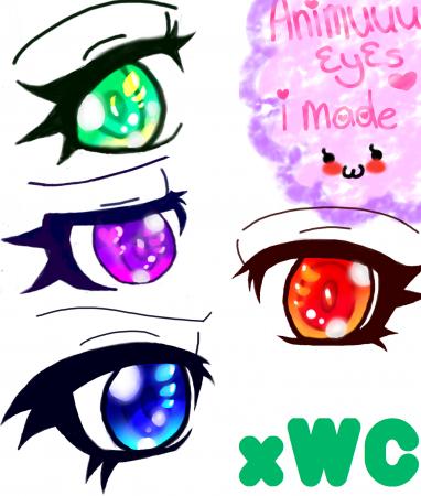 .:Anime Eyes Practice:.