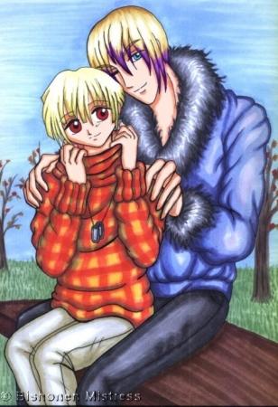 -ShonenAi- Autumn Bench