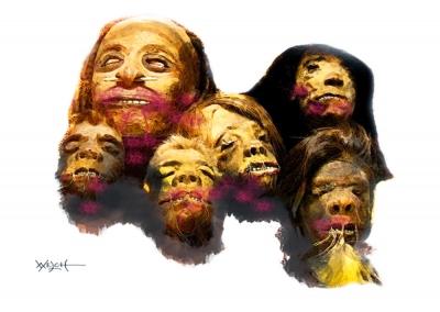 LAGODA'S HEADS