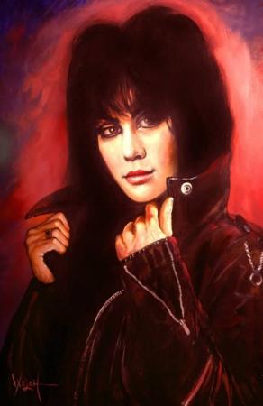 JOAN JETT (Painting)