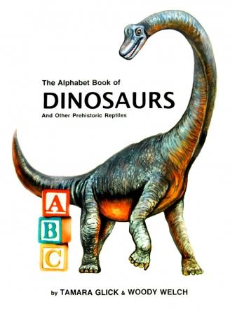 DINOSAUR ALPHABET BOOK COVER