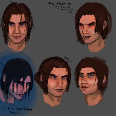 15 years ~ expressions sheet