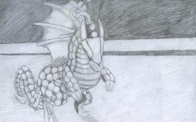 Dragon-Charm