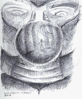 mask reflection