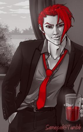 Viktor in Red