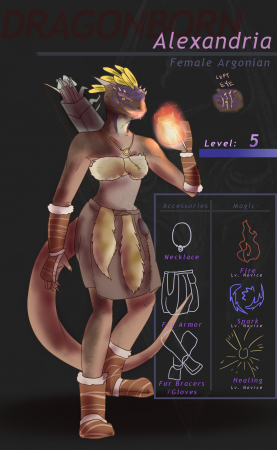 SKYRIM - Dragonborn Alexandria