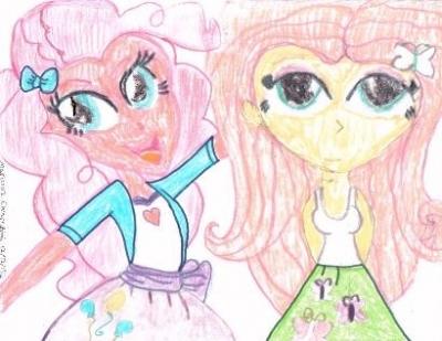 EG:Pinkie Pie & Fluttershy