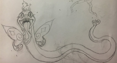 Fairy snake thing