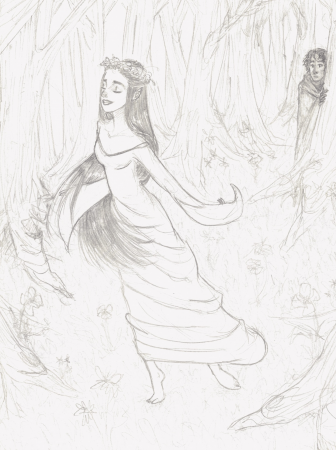 Beren and Luthien meet