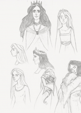 Morwen and Nienor