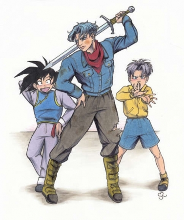 DBS- Trunks and Goten