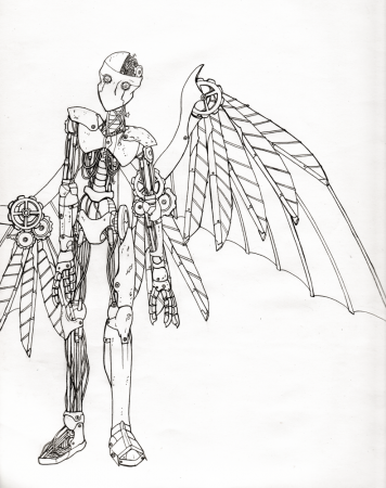Broken Clockwork Angel