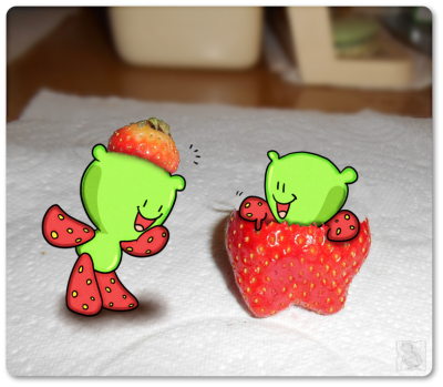 Strawberry Trousers