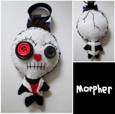 Voodoo Doll Keychain Plush #2