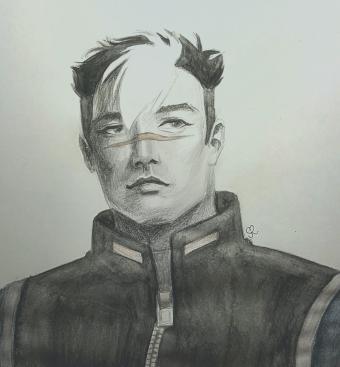 Shiro in Graphite