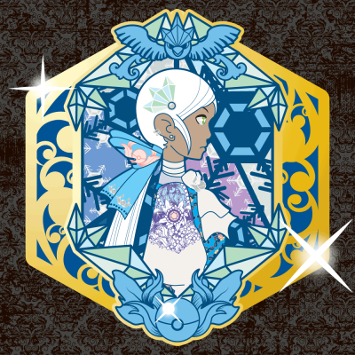 Rococo - Inspired Blanche