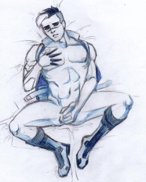 Shiro in blue