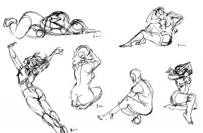 Figure studies day 2