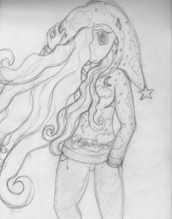 Dream Girl (sketch)