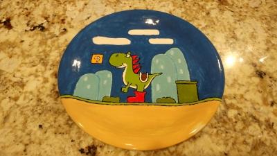 Yoshi Dinner Plate