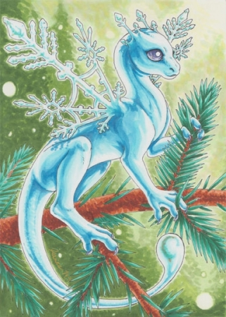 Snowflake Dragon