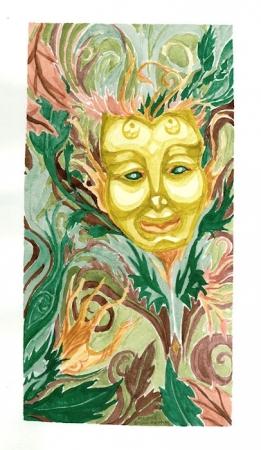 Masked Dryad