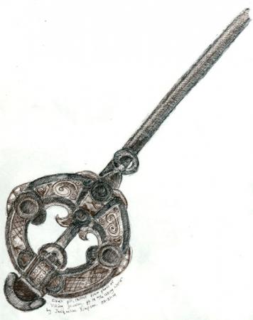 Viking Cloak-pin