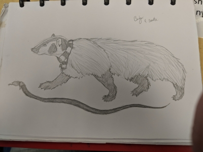 Badger and Snake