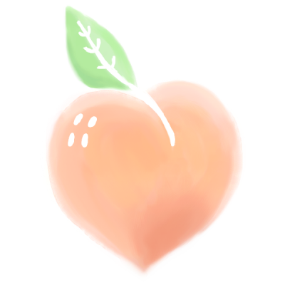 Warm Peach is Now Transparent!