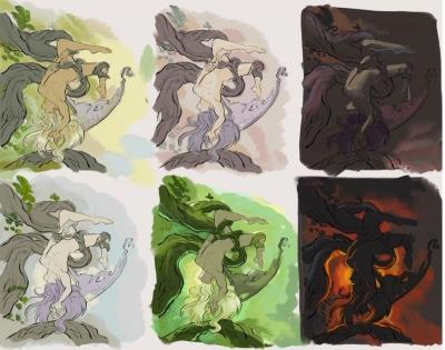 PaperDemon color studies