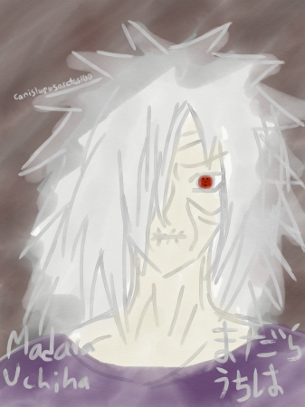 Akatsuki Sketch Set: Madara