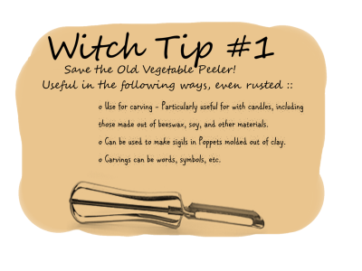 Witch tip #1