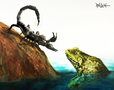 SCORPION and FROG